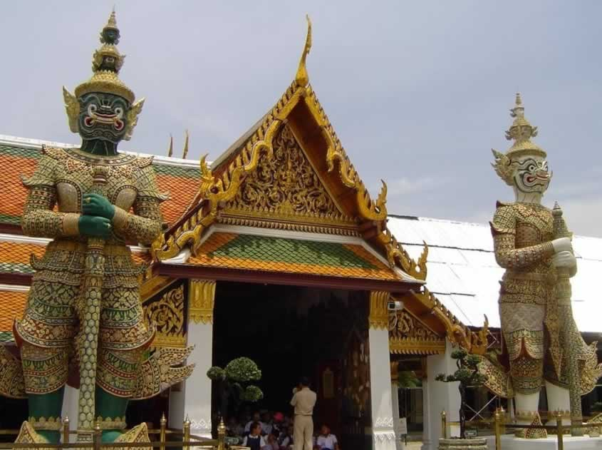 曼谷拉玛皇朝大皇宫