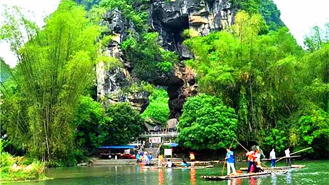 桂林穿山岩
